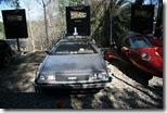 Einer der original Doloreans aus Zurück in die Zukunft