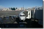 Unser Flieger nach SFO