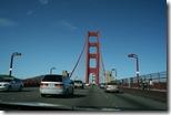 Auffahrt auf die Golden Gate Bridge