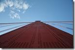 Eine Säule der Golden Gate